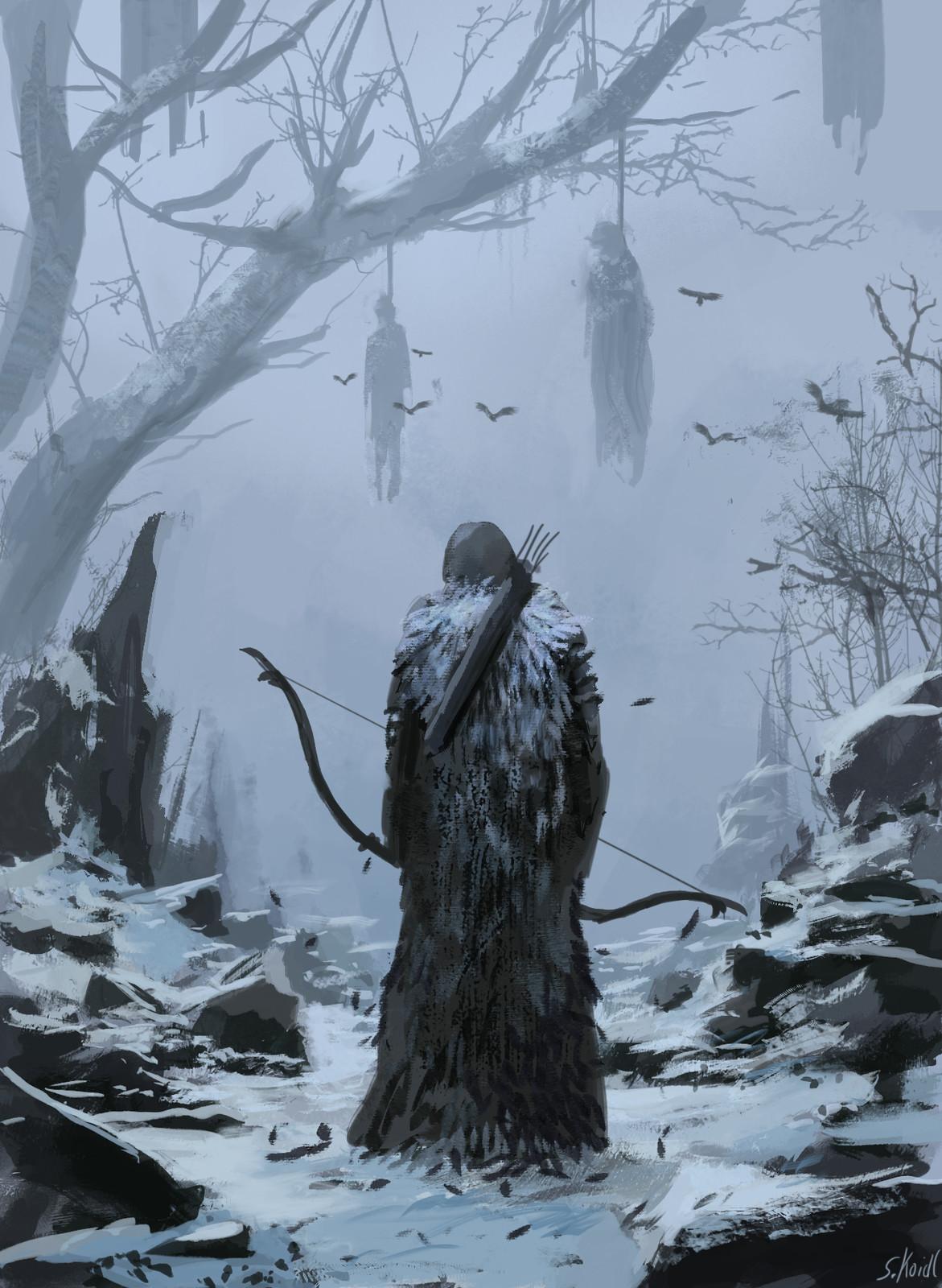 Raven cloak