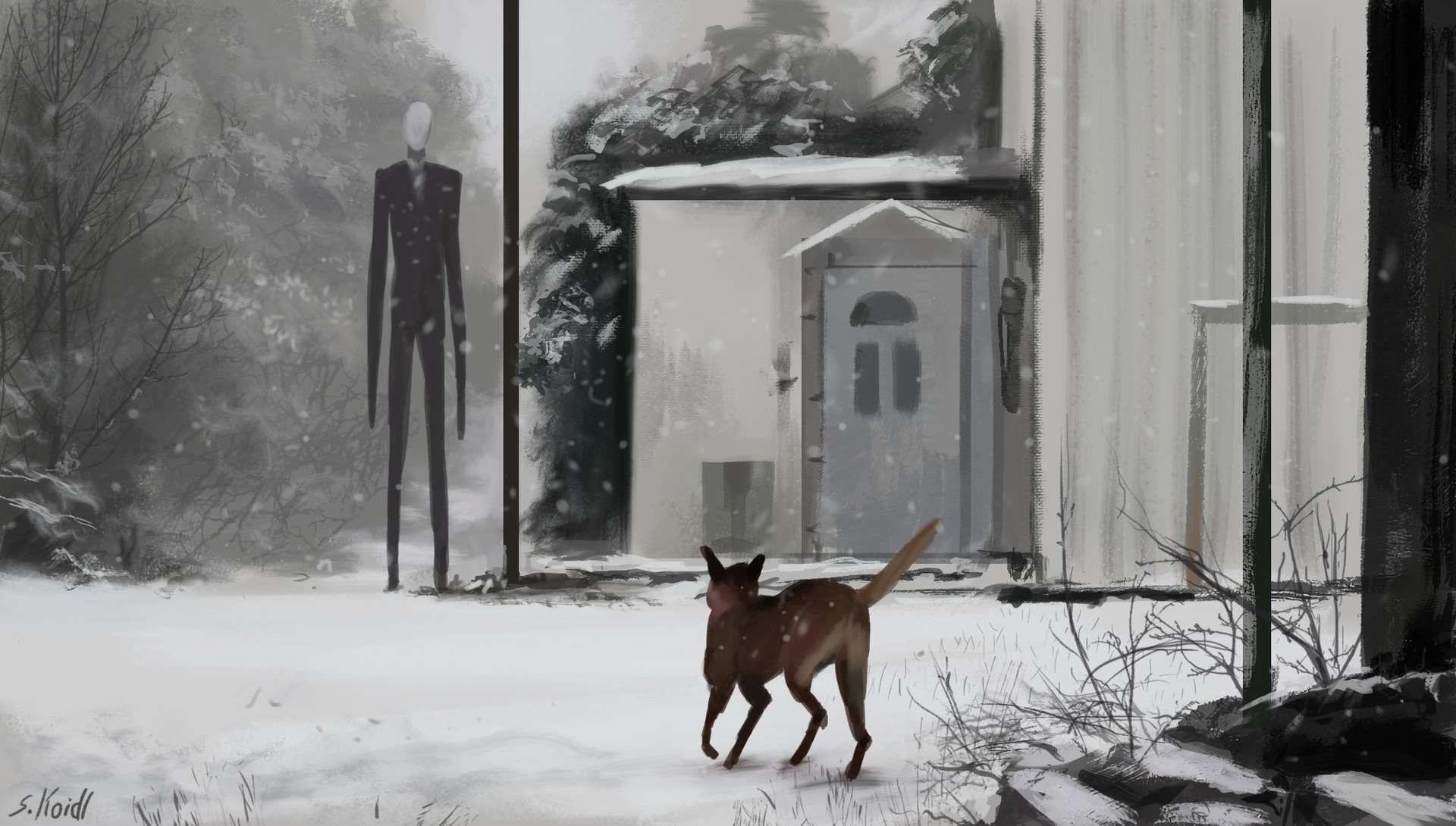 Stefan koidl, Non humanoid lifeform, arte digitale