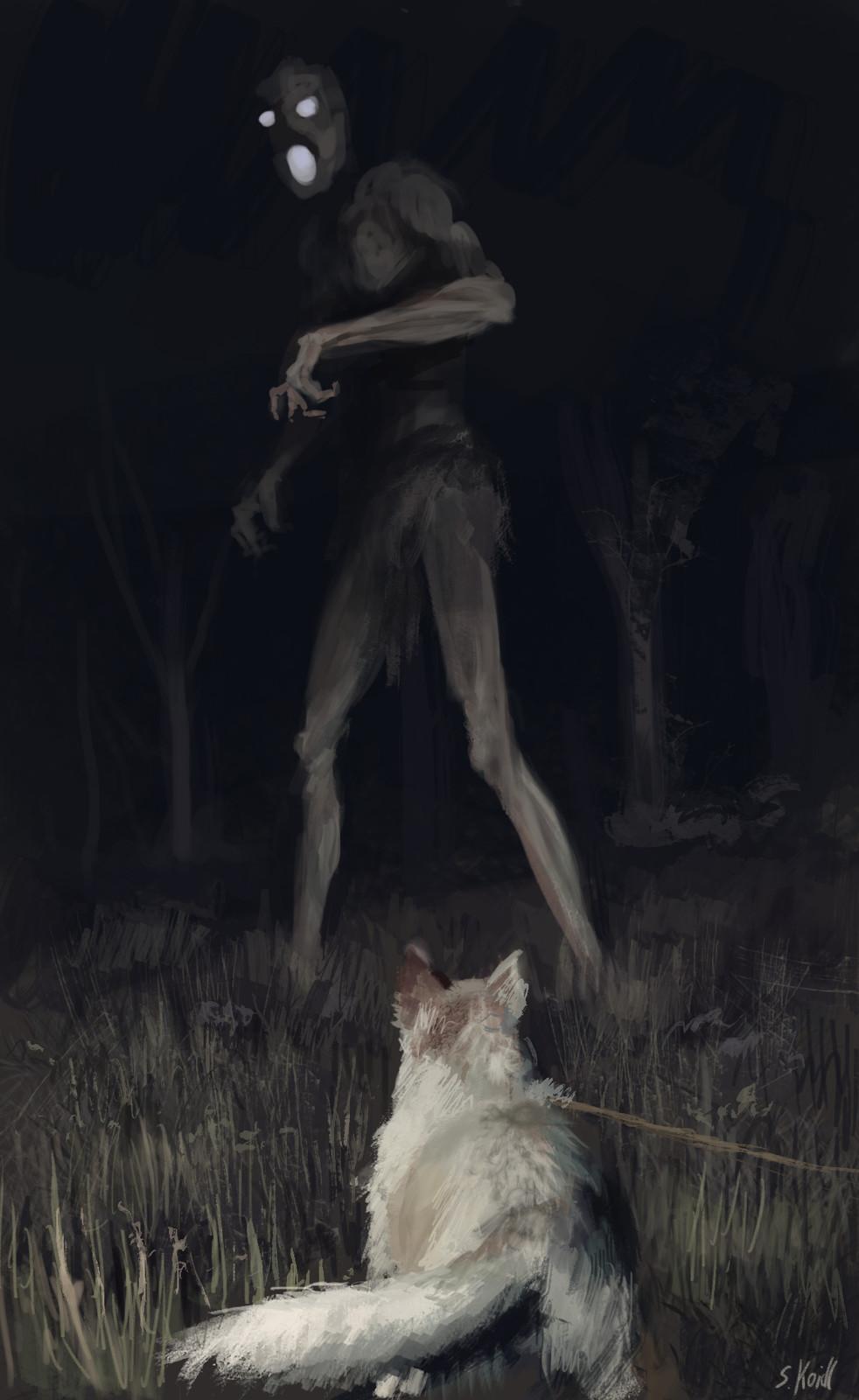Late at night the dark things wake