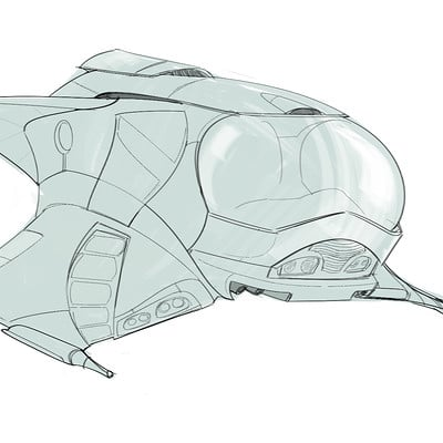 Christopher ables spaceship concept 3