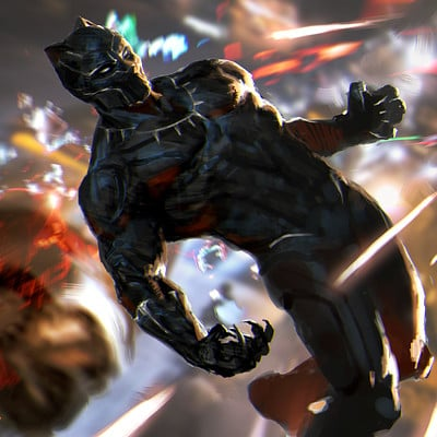 Lius lasahido black panther leap