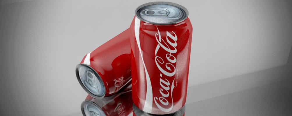 ArtStation - 3D Coca-Cola Model, Prinkit Rana
