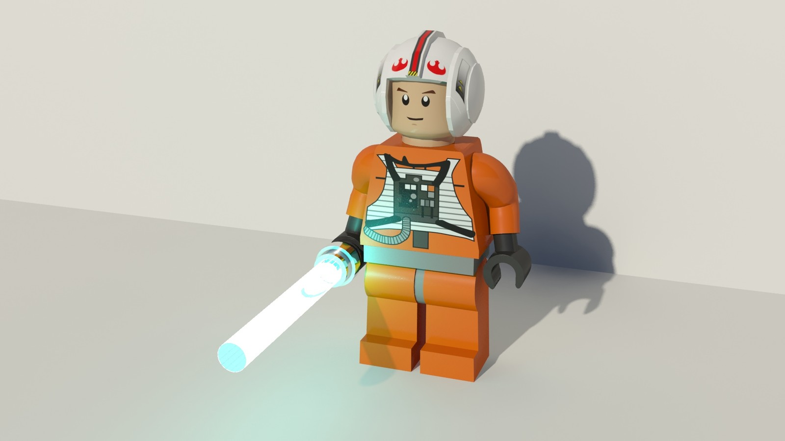 Lego Star Wars Luke Hoth
