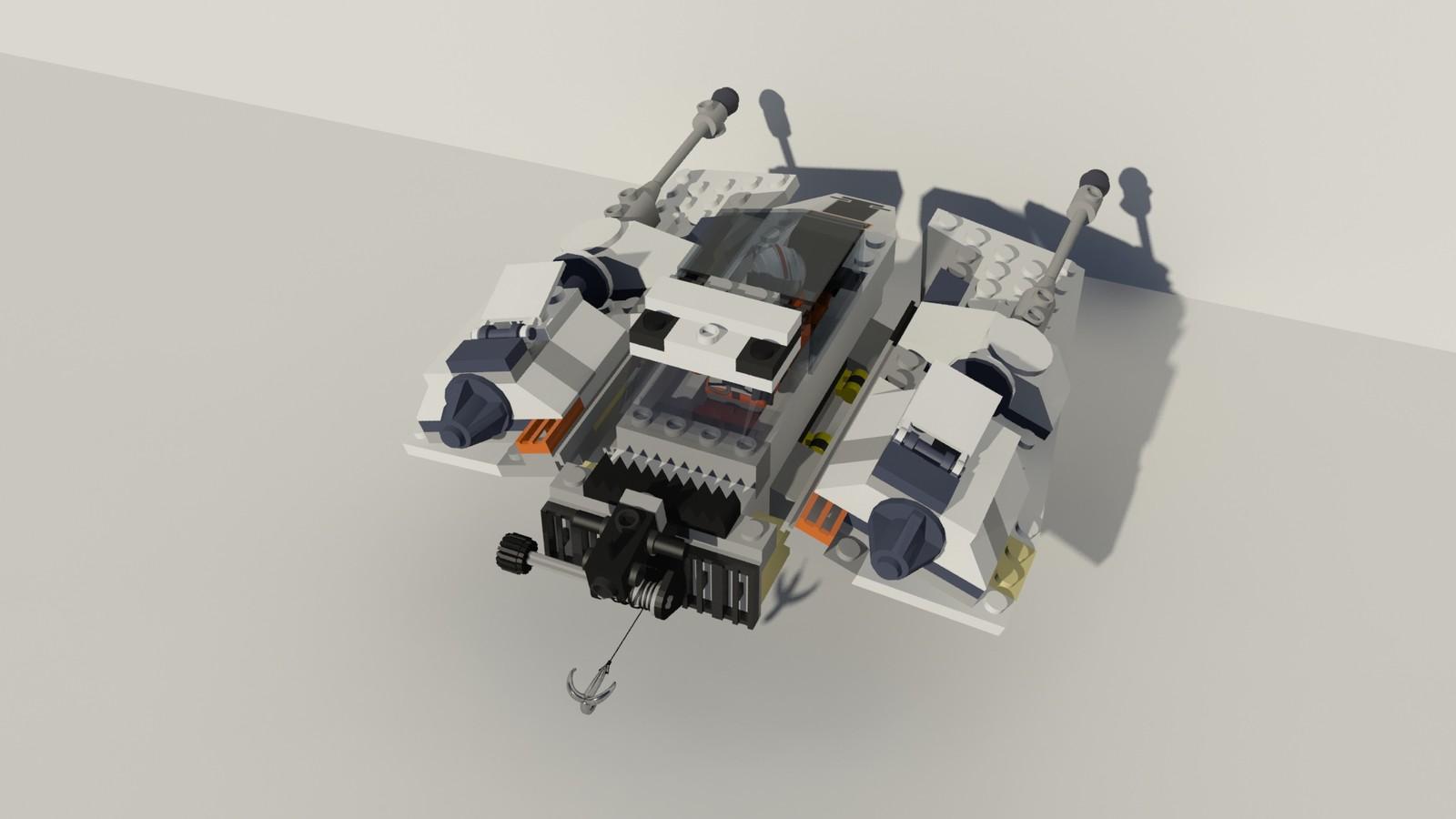 Lego Star Wars Snowspeeder T-47