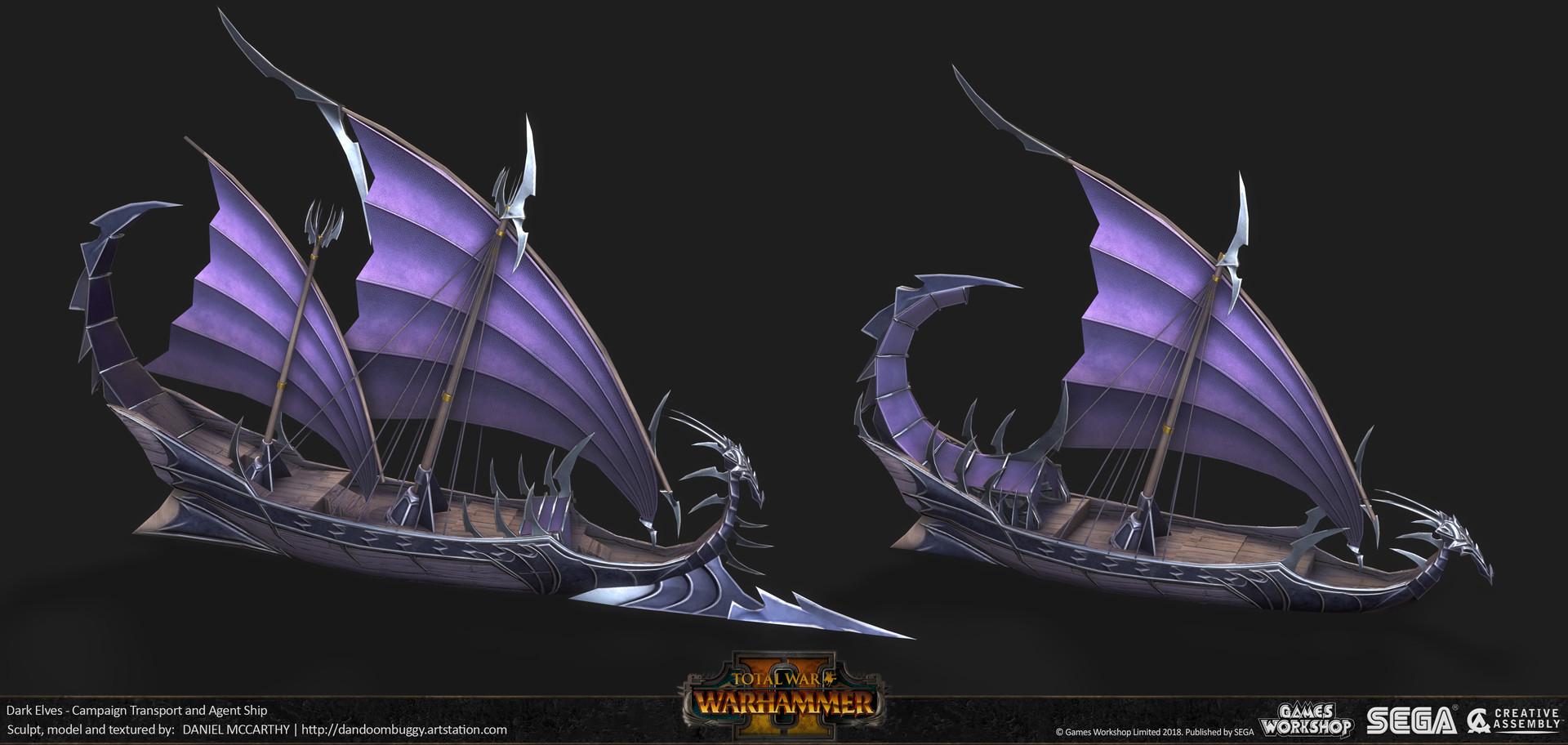 Daniel Mccarthy Campaign Ships Total War Warhammer 2