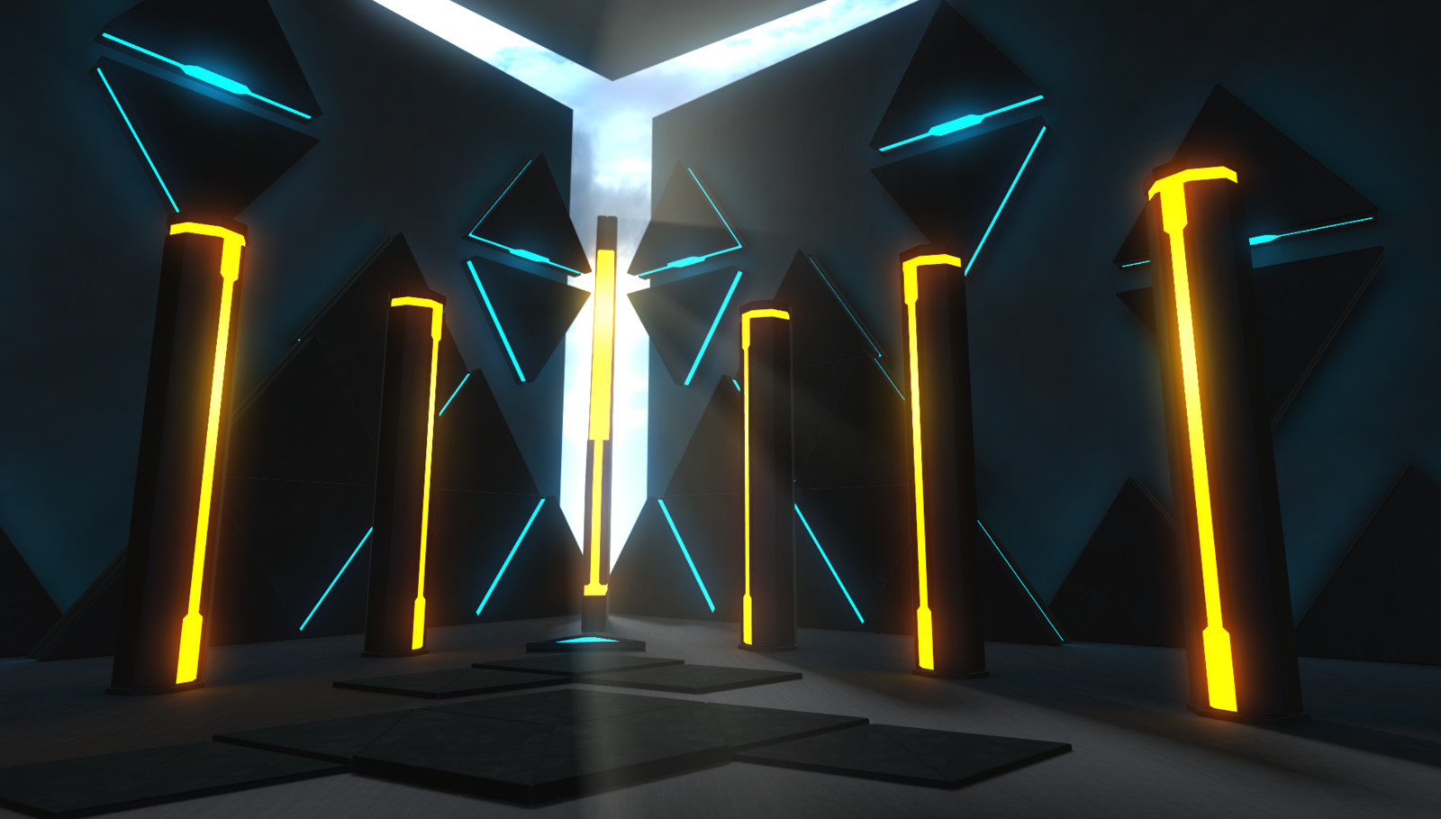 A few demo scenes that I made in Unity