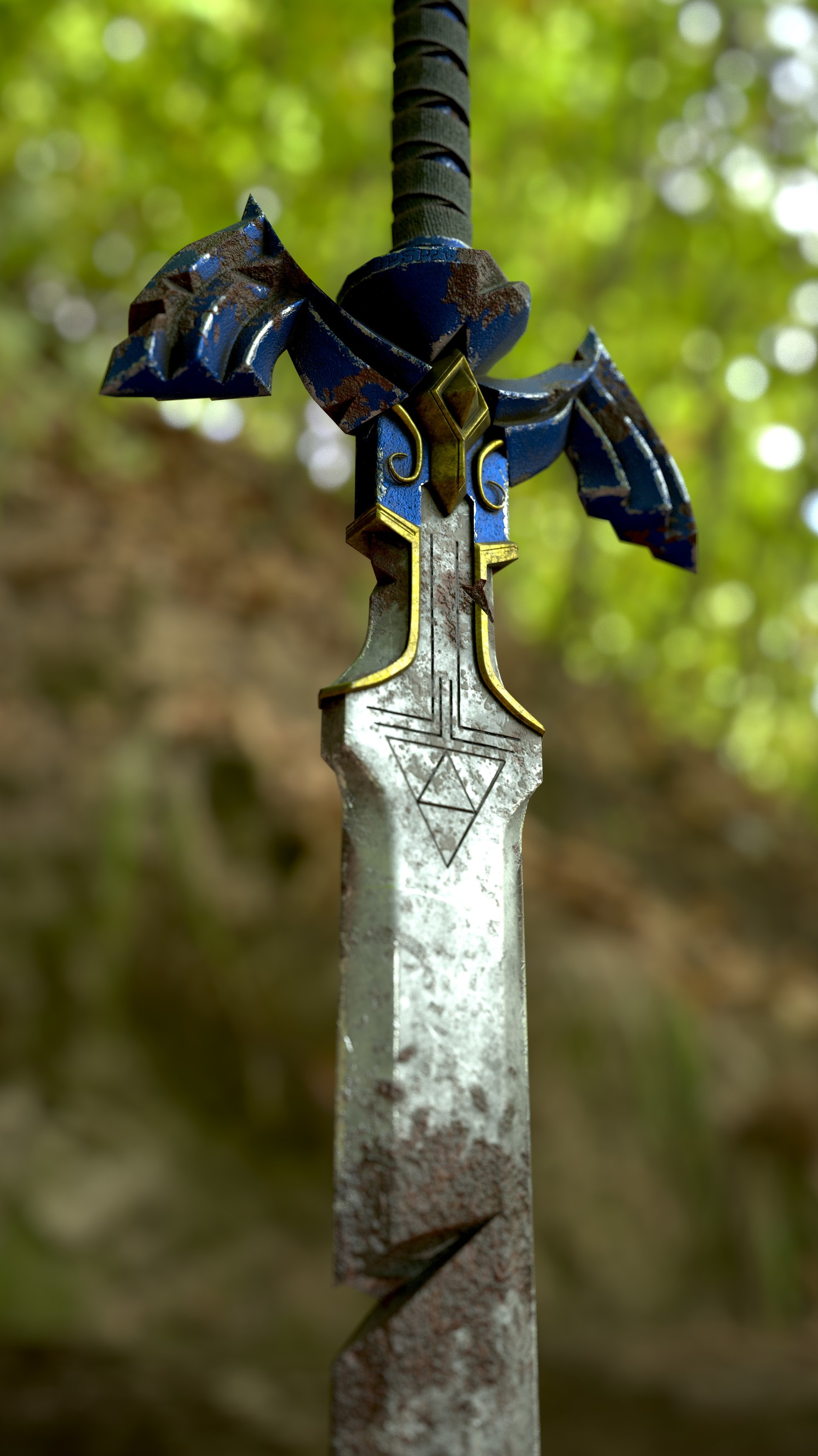 ArtStation - Master Sword , Liscar Scott