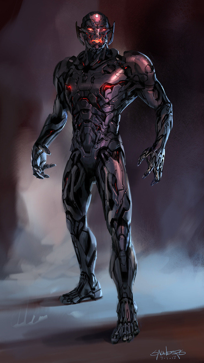 Another of my earliest attemps at Ultron.
