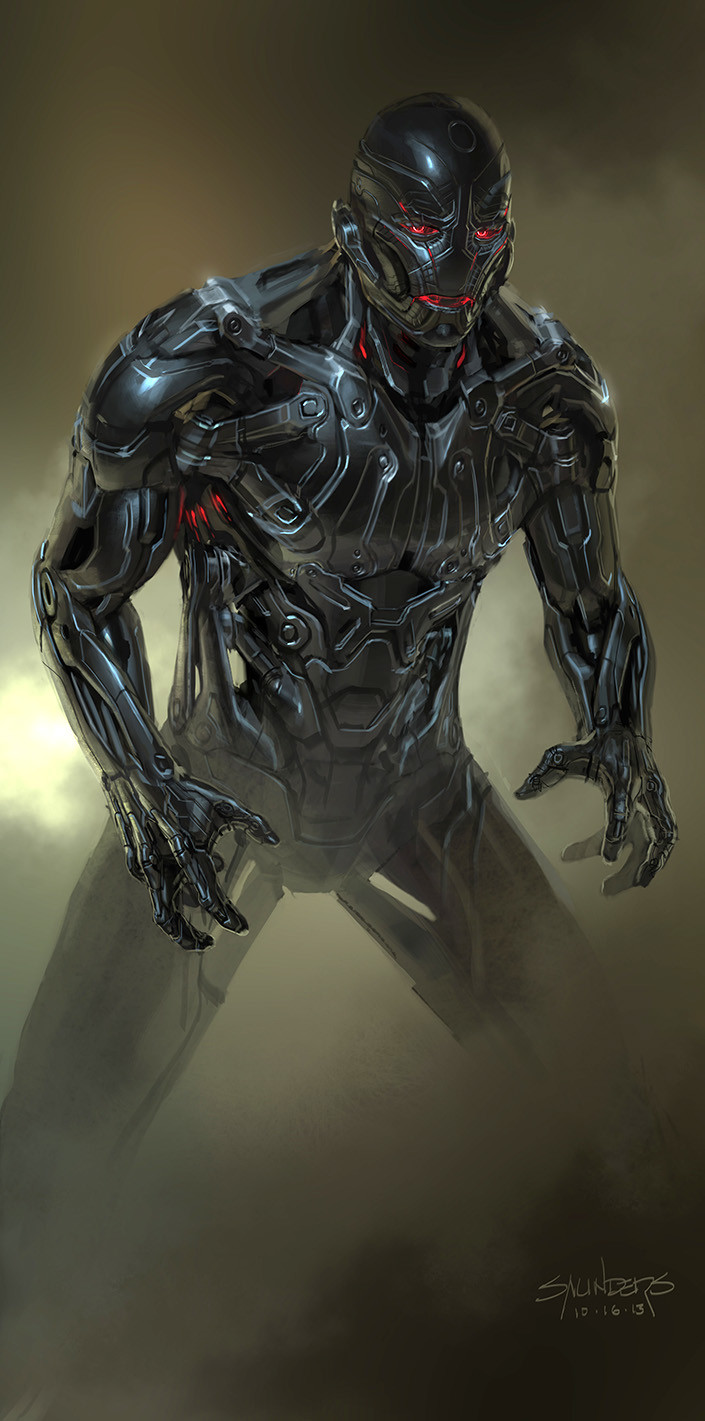 At one point, director Joss Whedon decided he wanted Ultron to have more identifiable mechanical components, so we all went back to the drawing board for another round.
