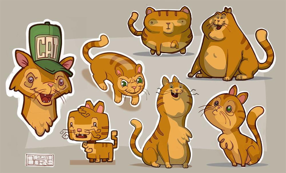 Jason borne style study cats