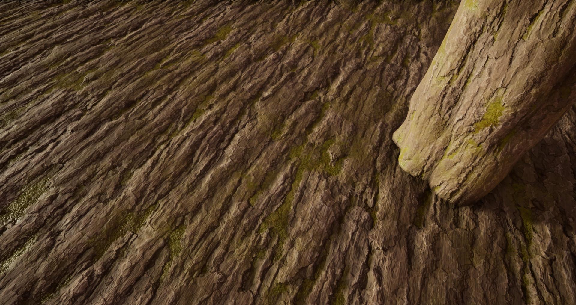 Joshua Chaplin | 3D Artist - TreeBark_02 | Substance Designer