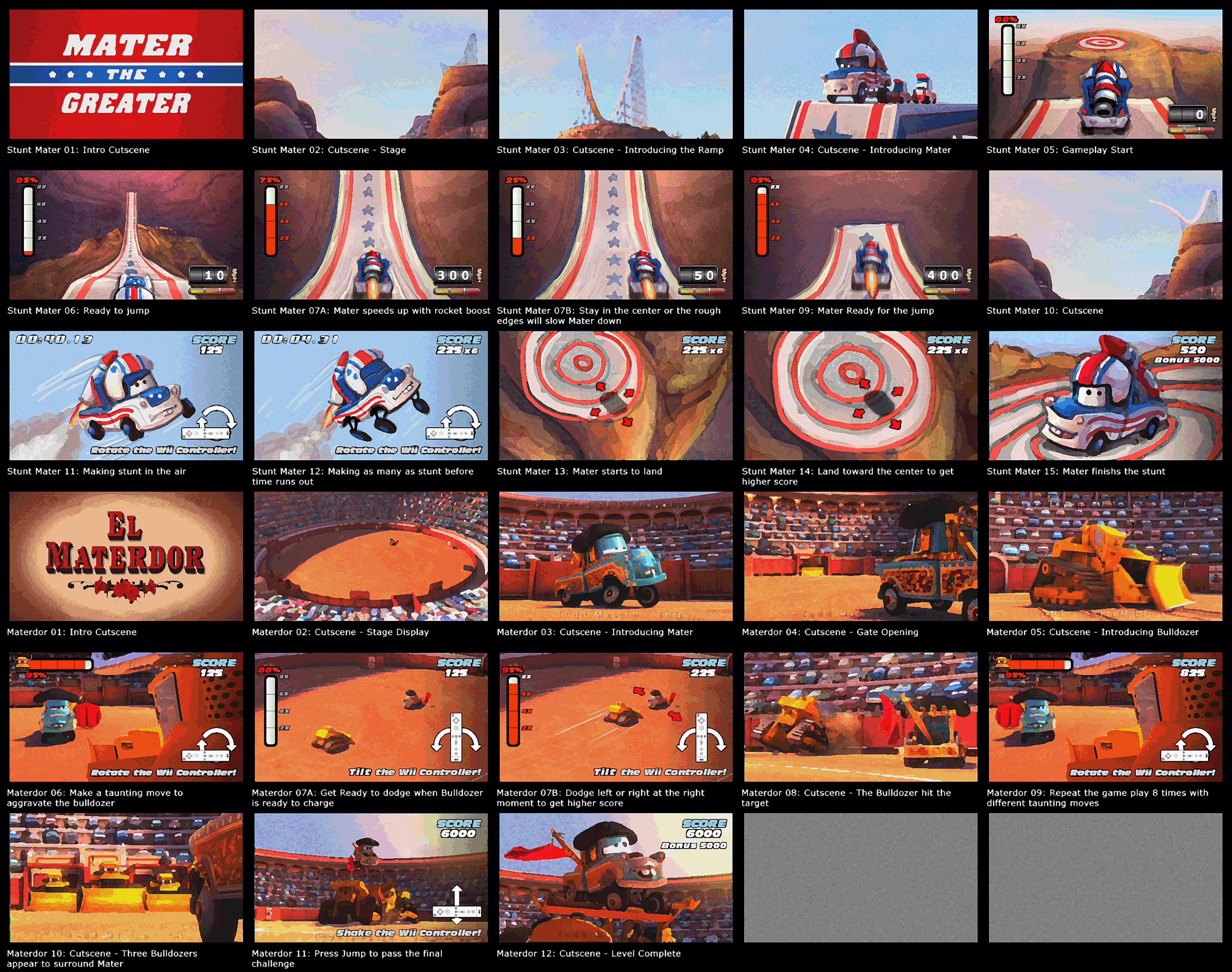 (2009) Storyboard - Cars: Race-O-Rama II