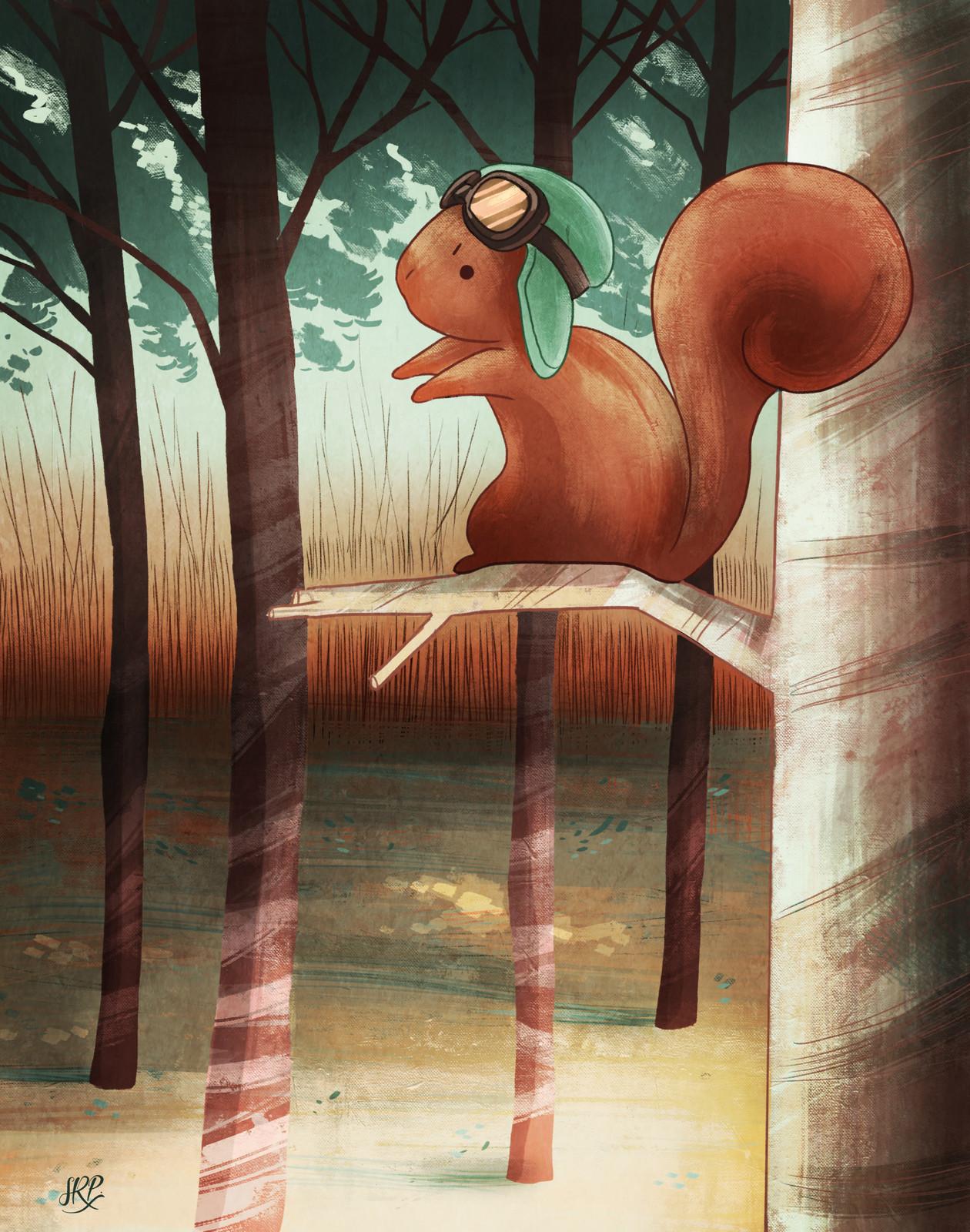 Squirrel -Ál's tale