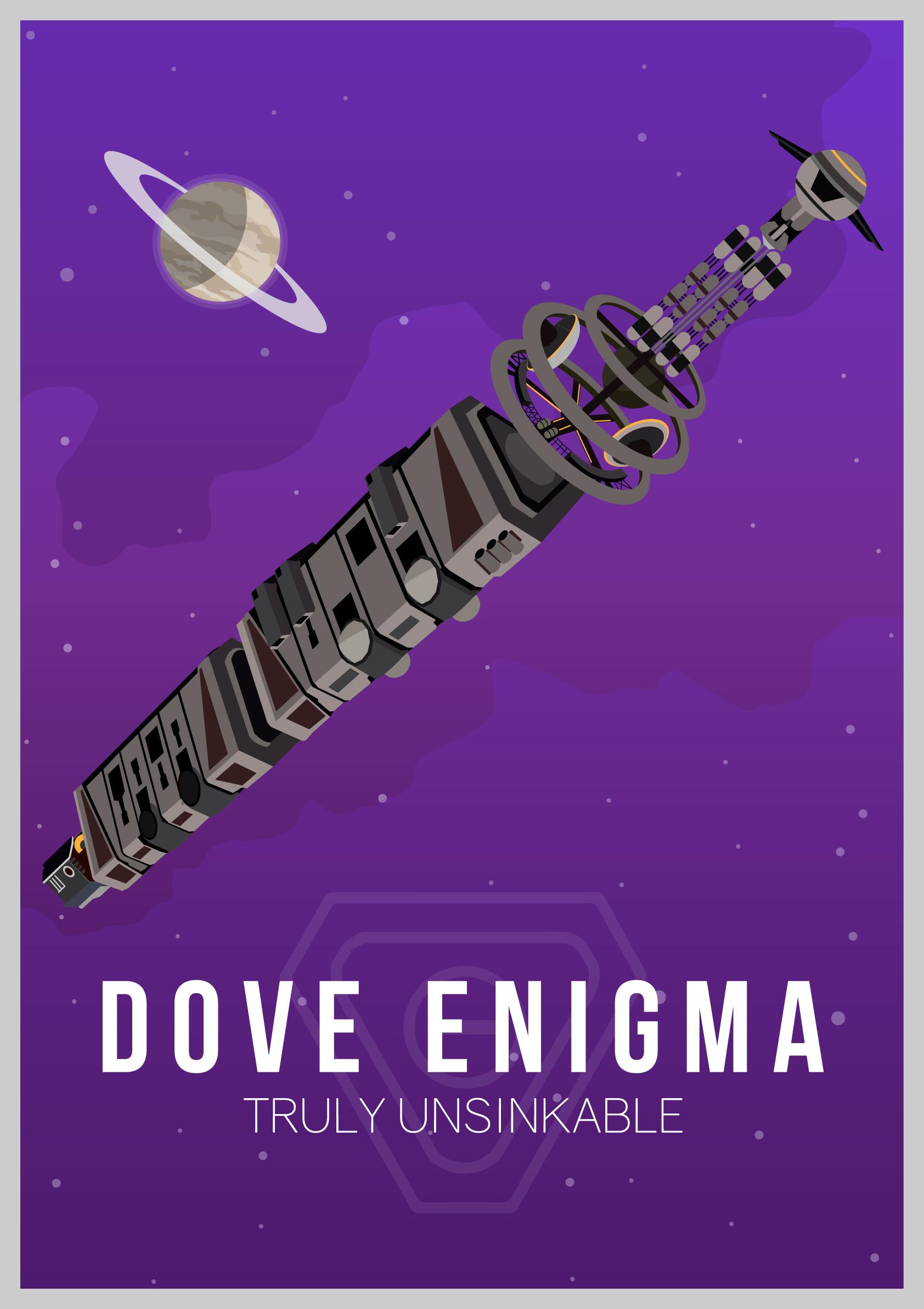 Mathew maddison dove enigma poster 01