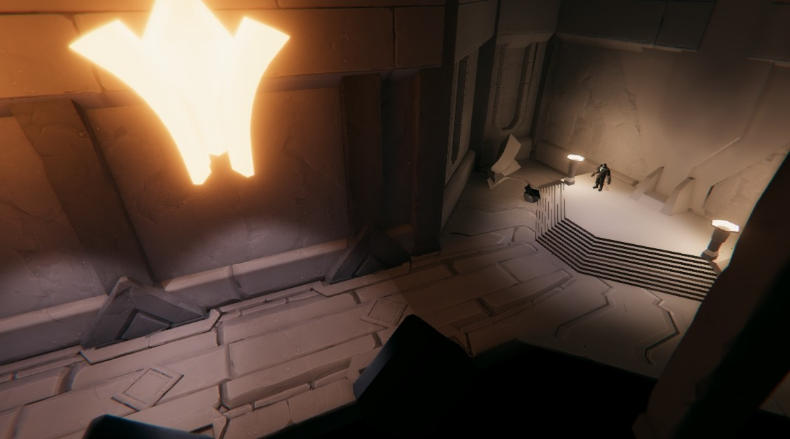 First pass in Unity, testing out the assets and lighting