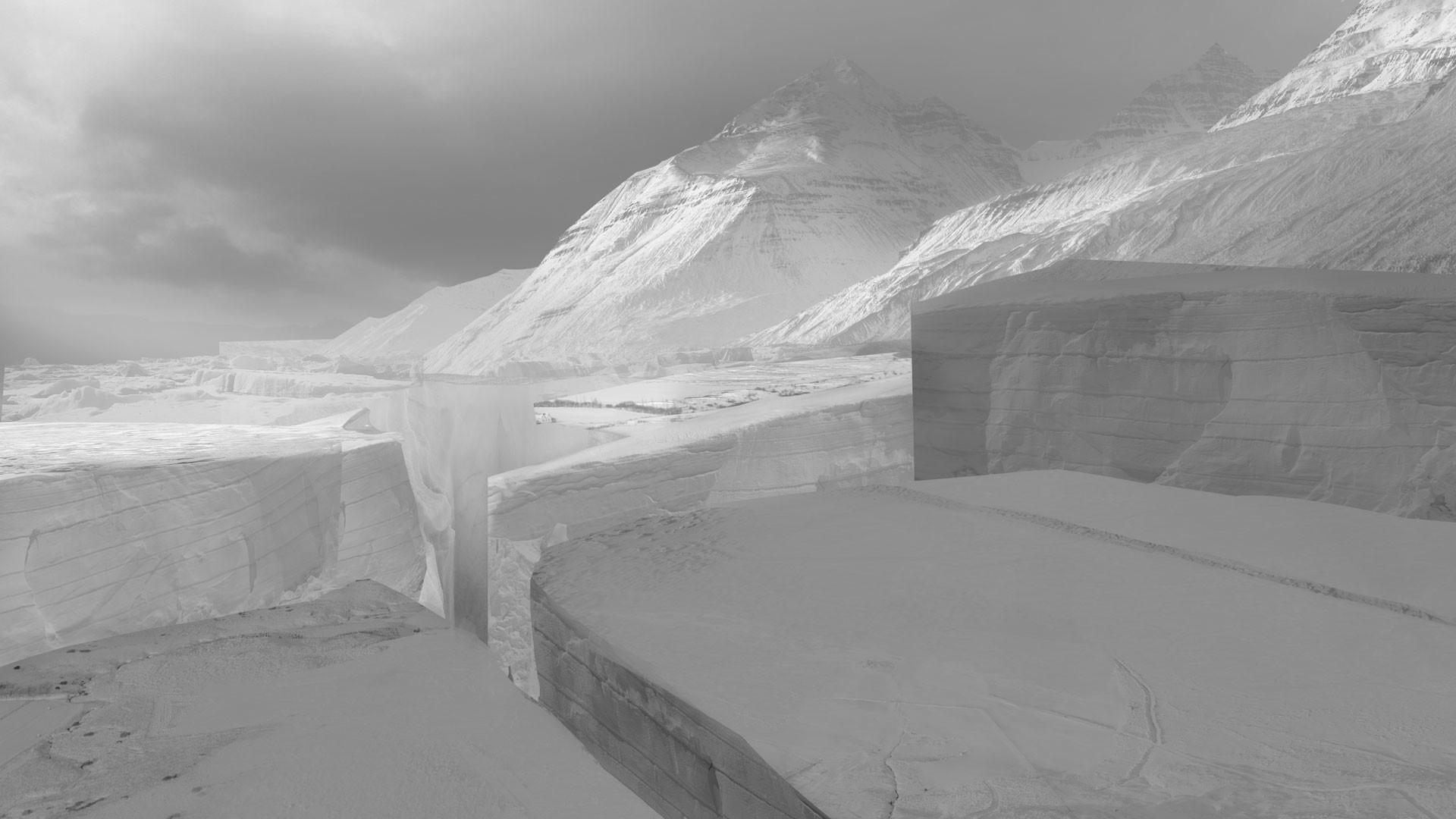 Marina ortega matte ice alien landscape 01