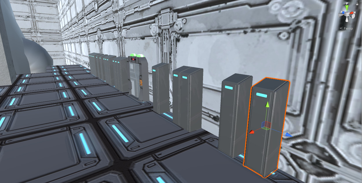 Models being placed in Unity