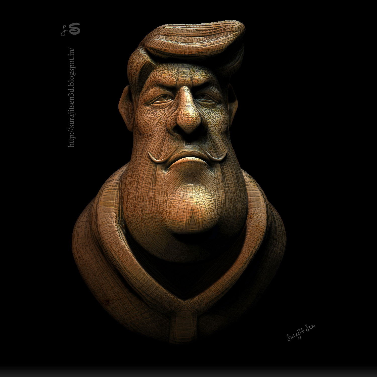 #doodle  #quicksculpt My Weekend doodle ........fun with brushes!...;)