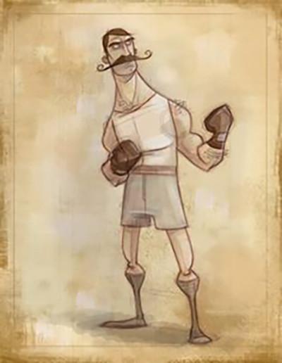 "Concept: Jason Kraft ""Boxer"""
