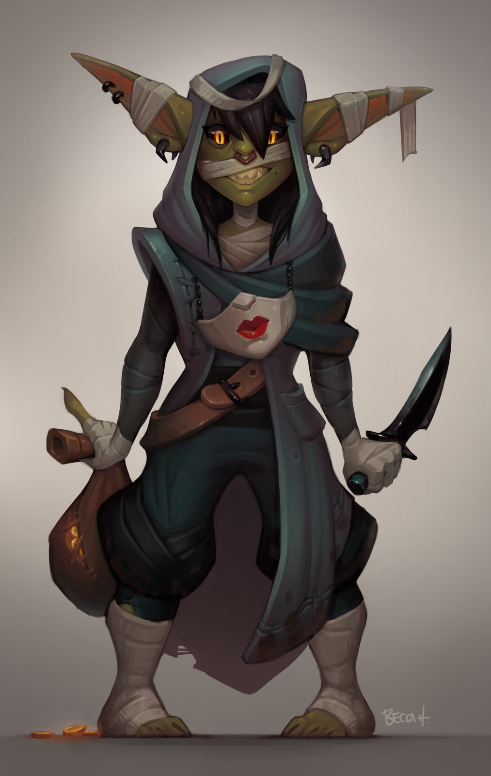 Nott the Brave! (with process)