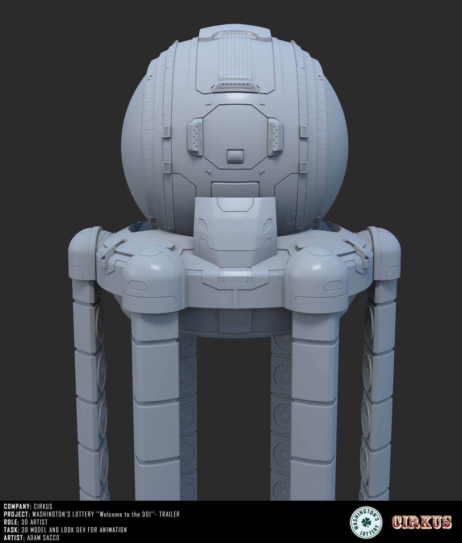Kraken - 3d model