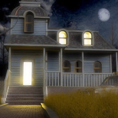 Greg hewitt creepyhouse6c