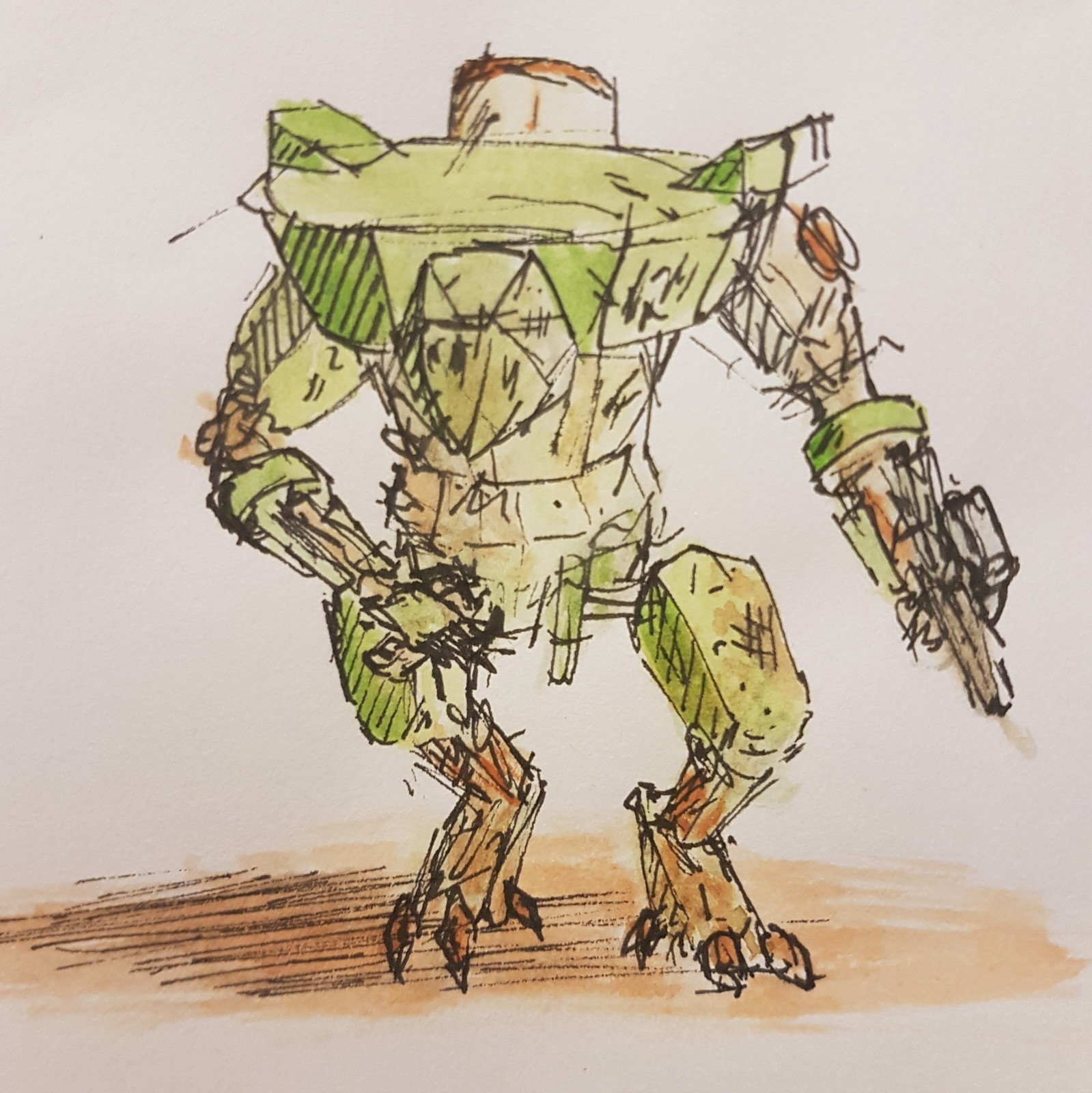 Dusty Warrior