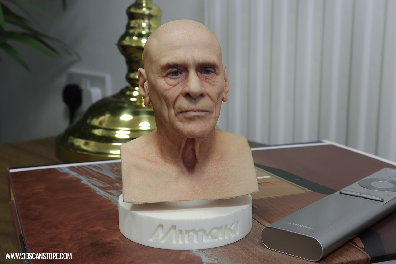 ArtStation - Mimaki Head Scan 3D Print, James Busby