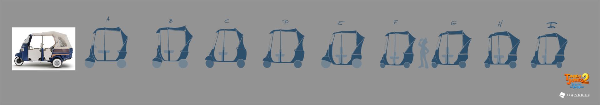 Angel oromendia rickshawsiiluette