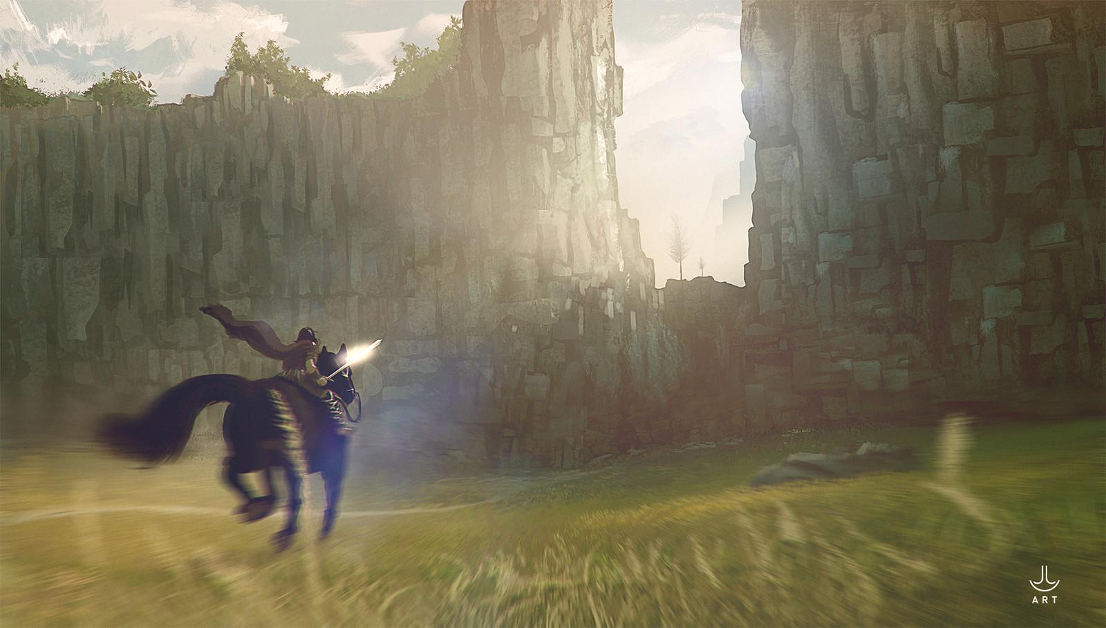Wander's quest