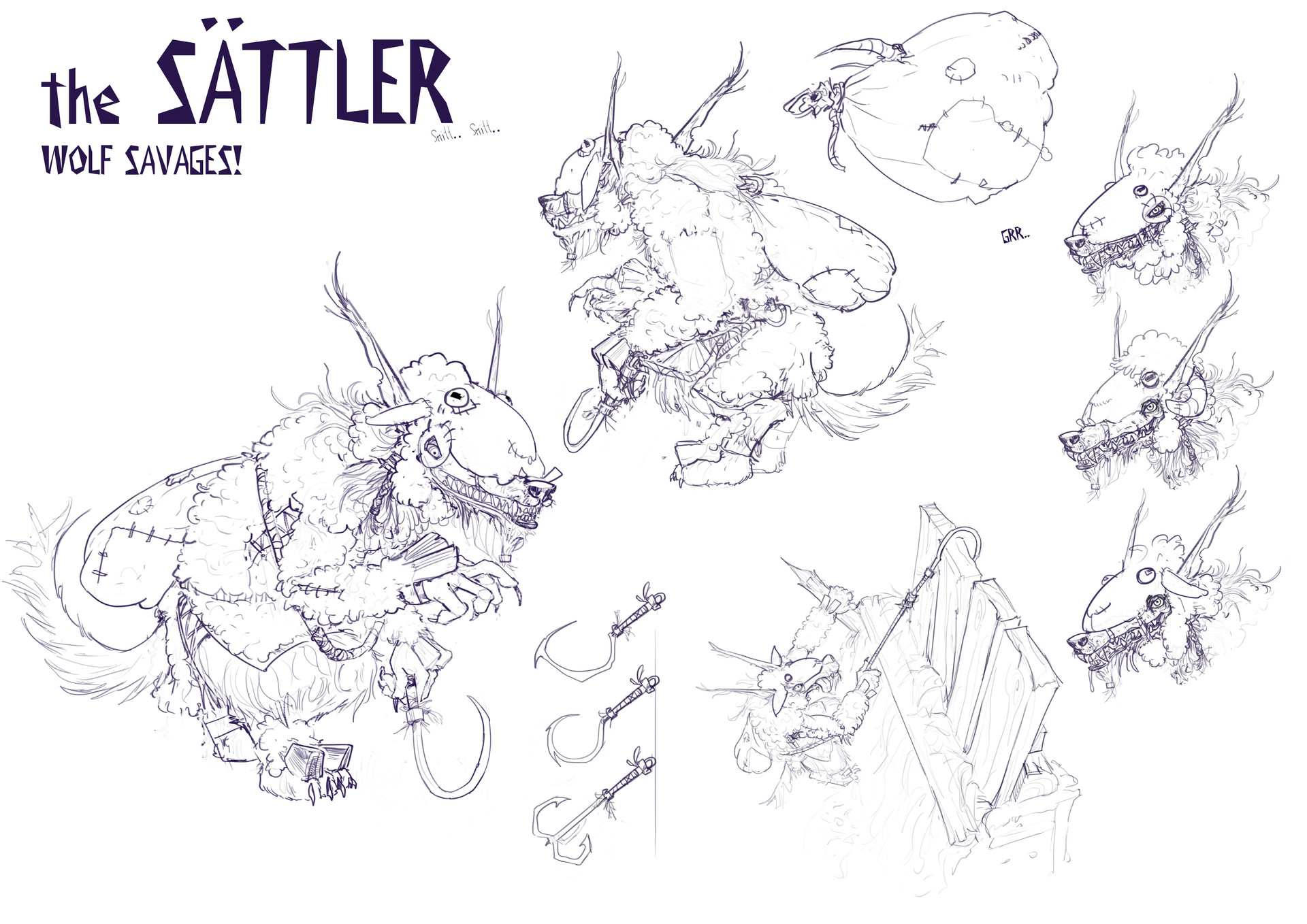 Artstation The Sttler Line Art Fabian Pfundner Catapult Diagram Viewing Gallery Scroll To See More