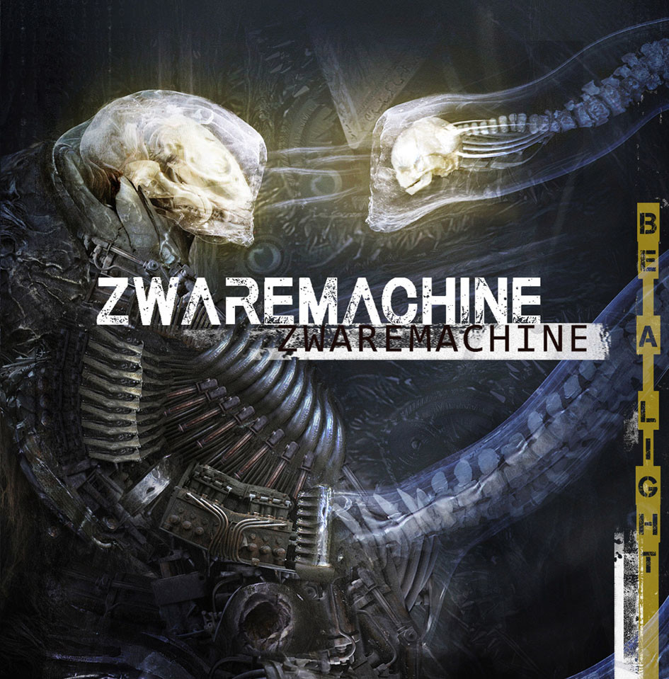 CD COVER ART : ZWAREMACHINE