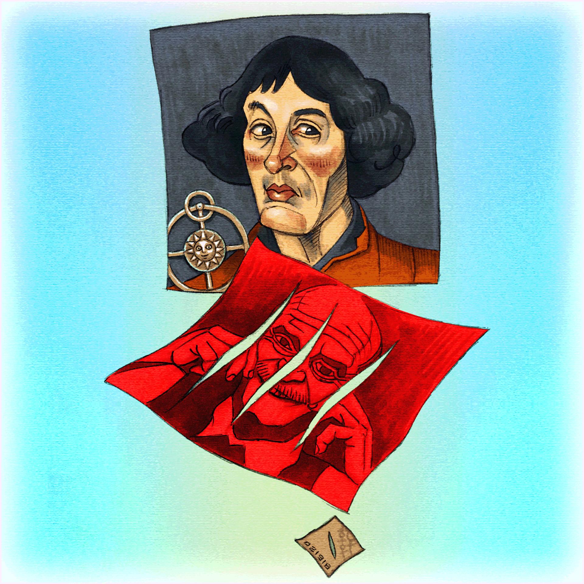 Day #15,152 - Copernicus + Fontana