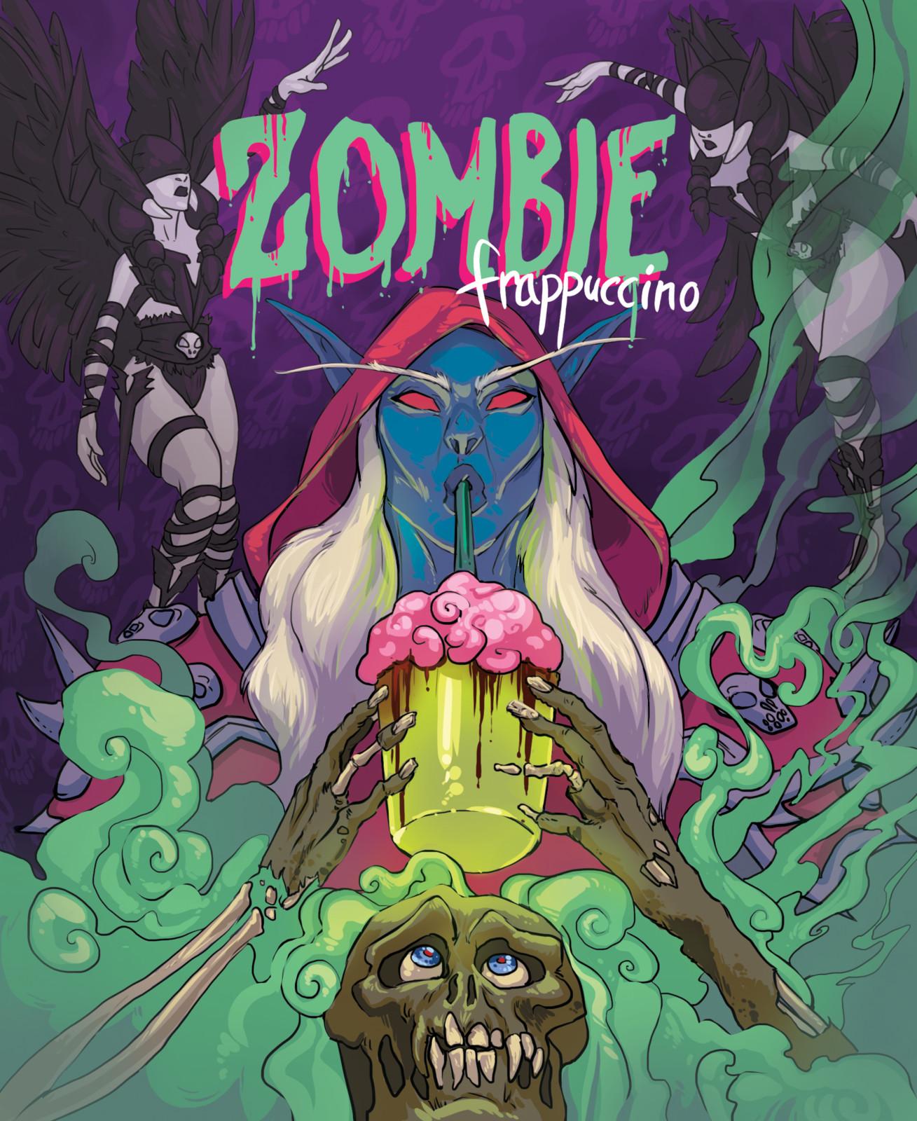 Zombie Frapp Promo October 2017 Sylvanas!