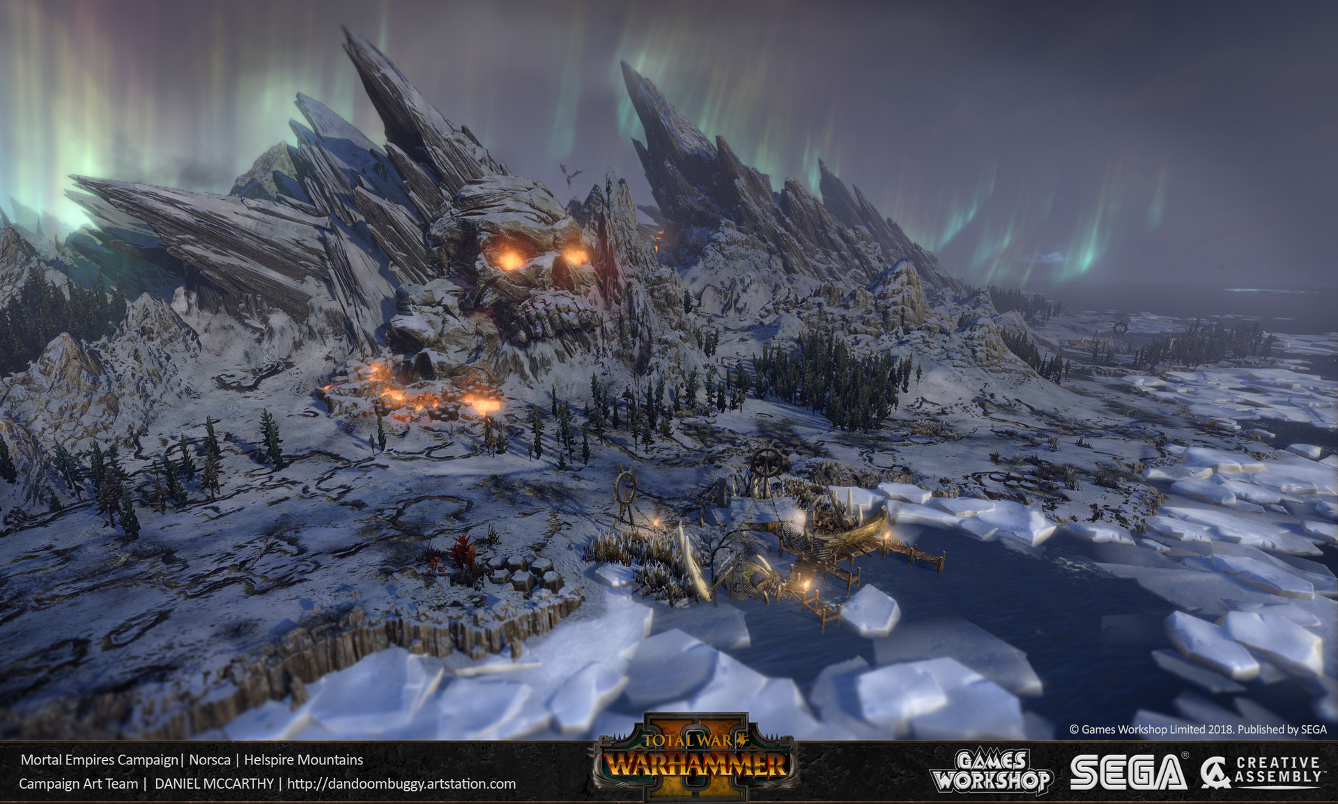 ArtStation - Norsca and The Chaos Wastes - Total War: Warhammer 2