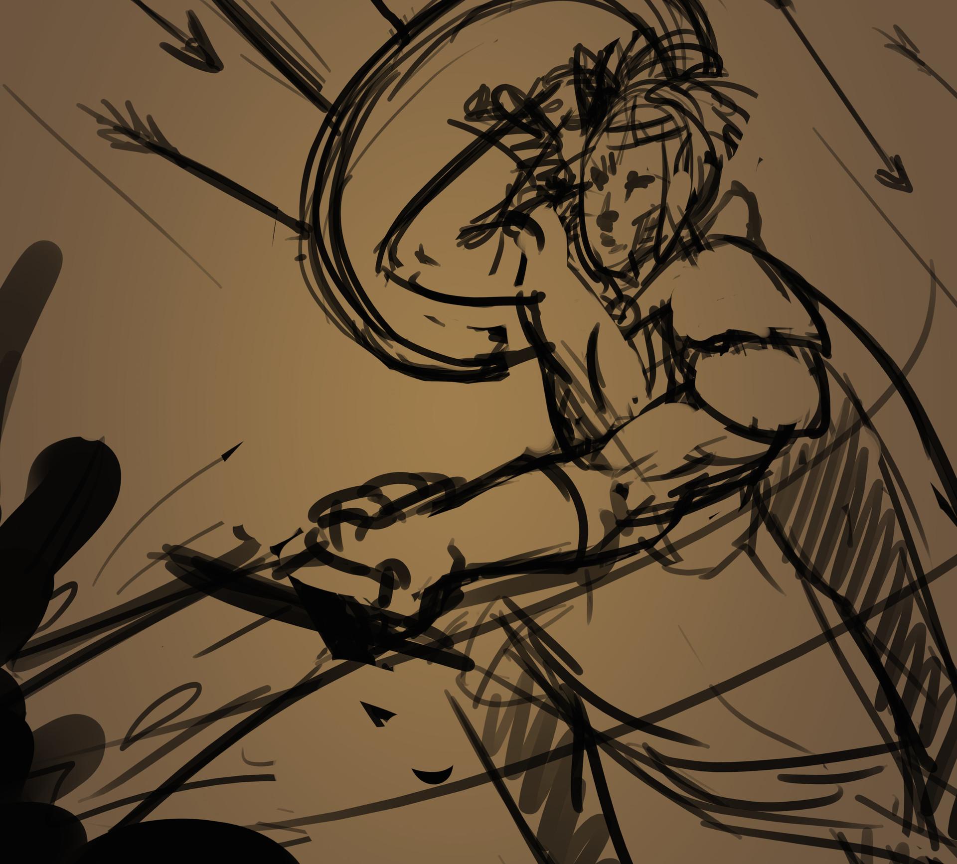Super rough sketch.
