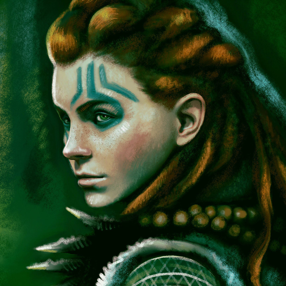 Aloy in Green