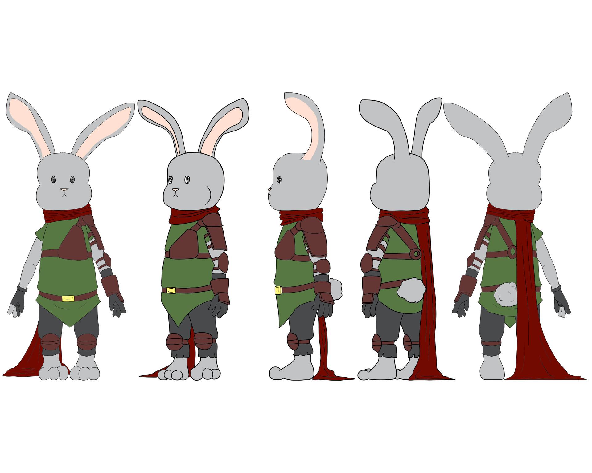 Josue canales bunny turnaround