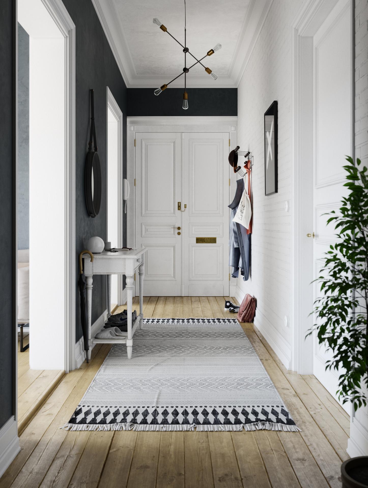 Alex langletz hallway interior 01