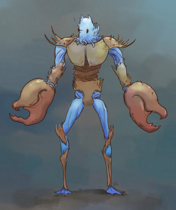 blue crab man