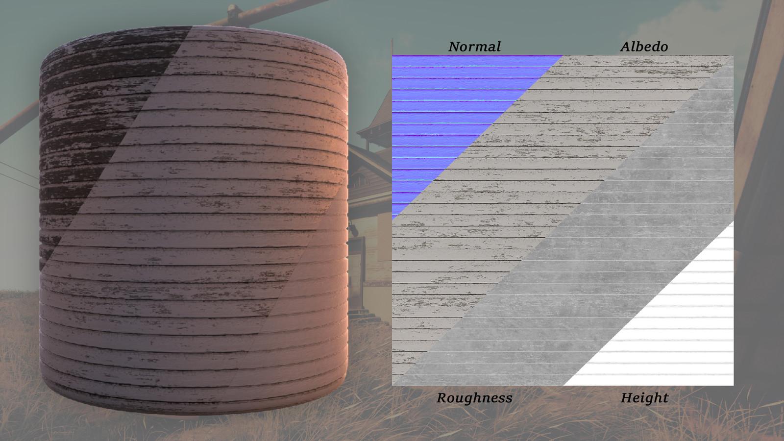 Wall Material Variants