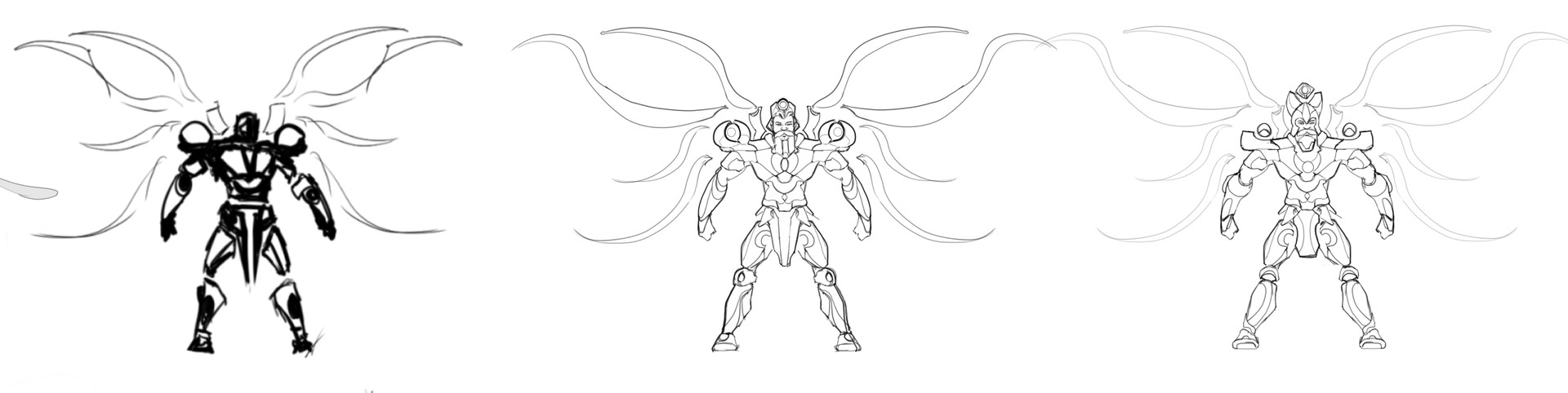 Danny kundzinsh art war archangel concept wip4