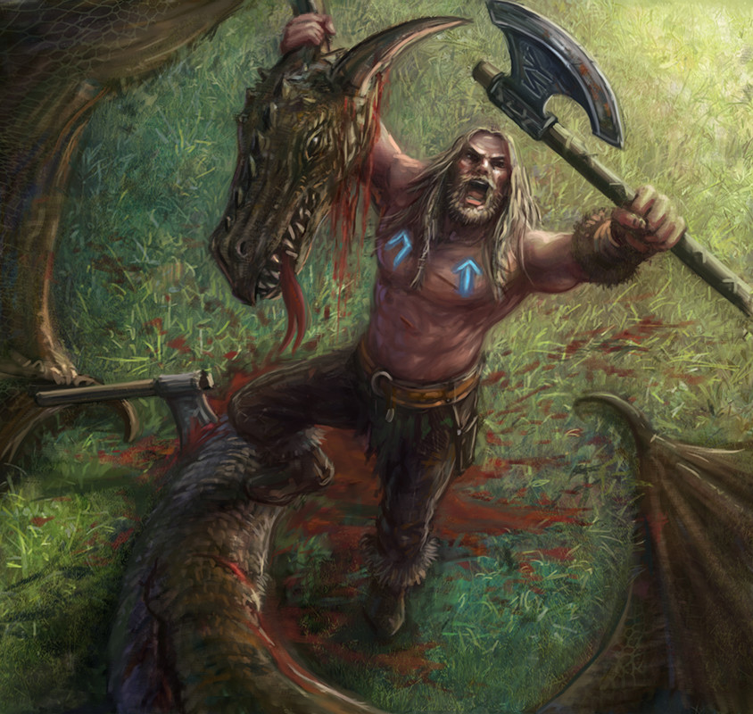 Joe shawcross dragonslayer final