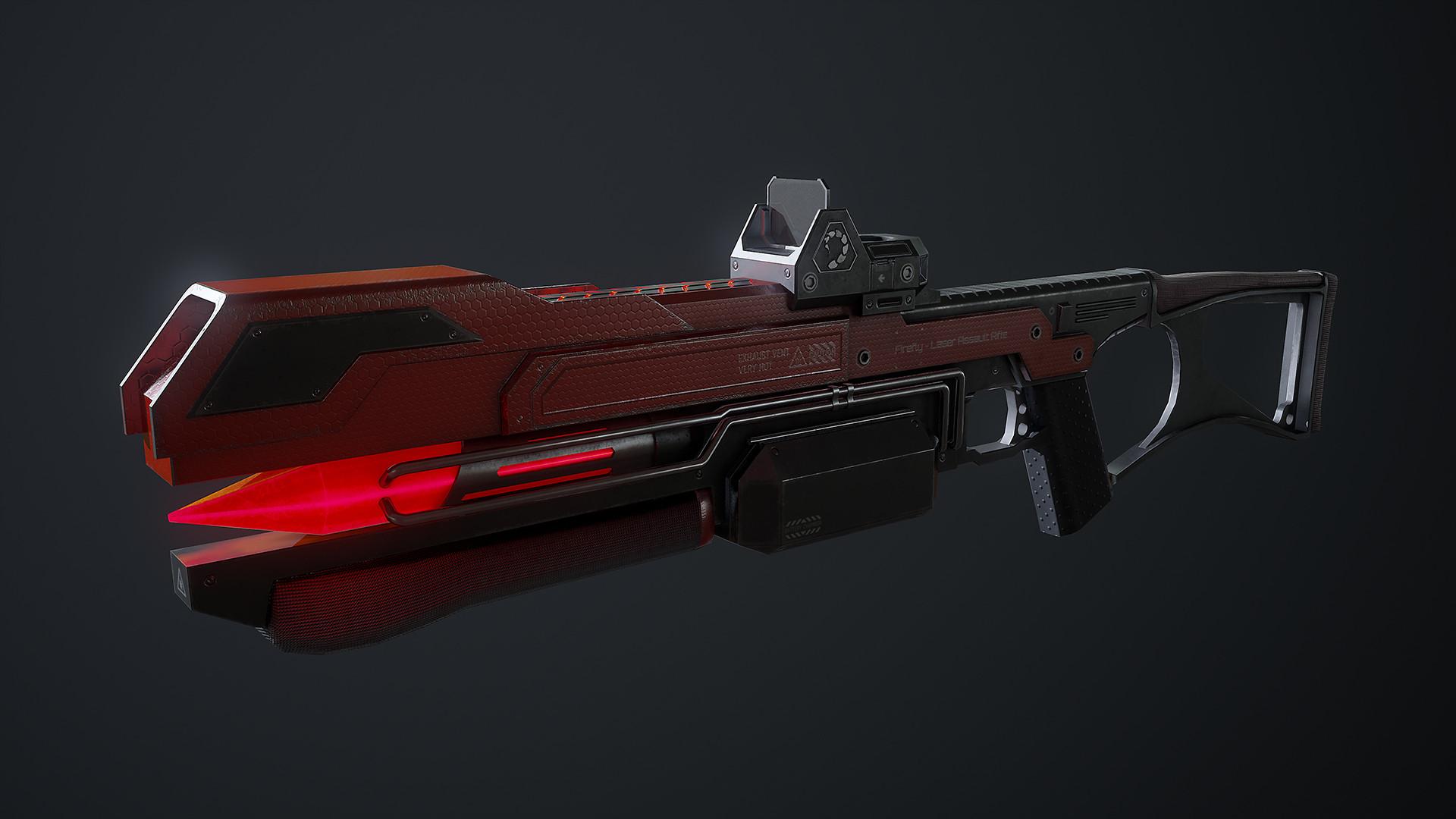 Waqas iqbal rx laserrifle render 01
