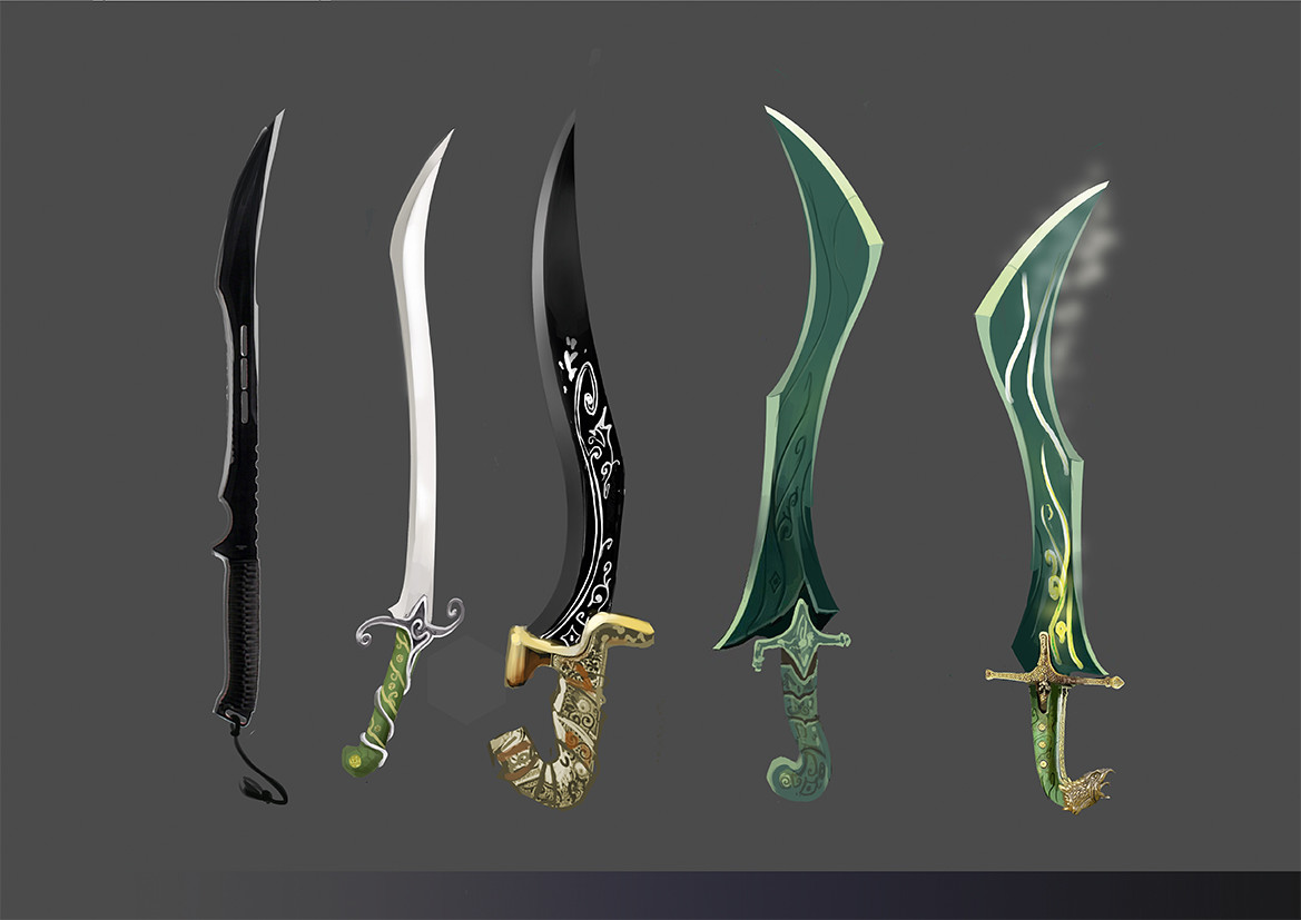 New sword