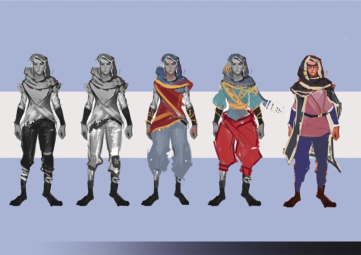 Costume design researches