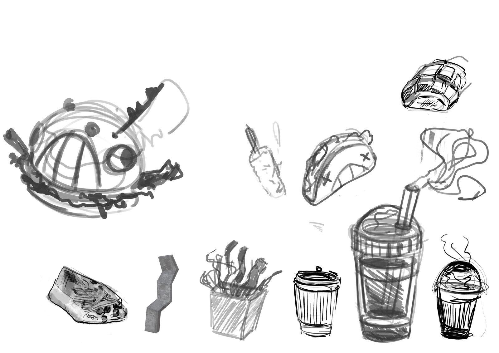 Little research sketches