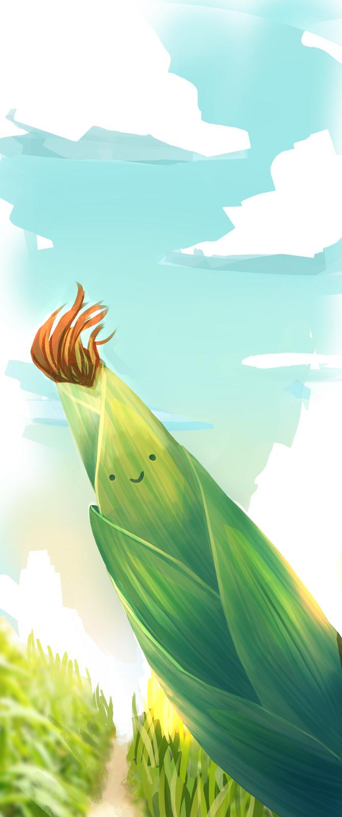 Have a friendly corn