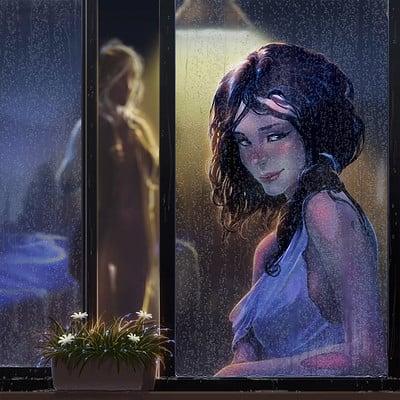 Kaithzer morejon chica ventana