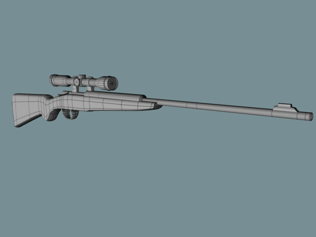 Jordan cameron rifle wireframe
